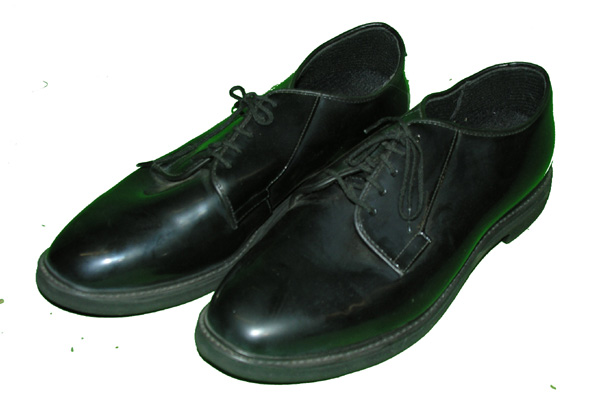 US Military Black Dress Shoes