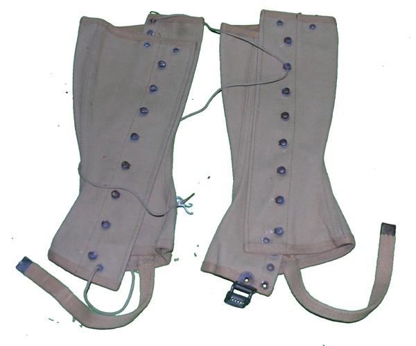 US GI Spats dated 1941