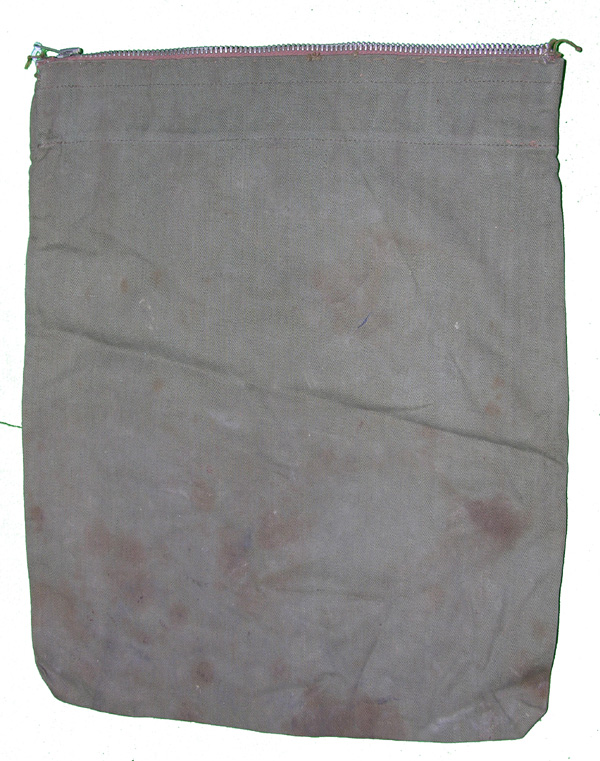 US Army Red Cross Shoe Bag with zipper