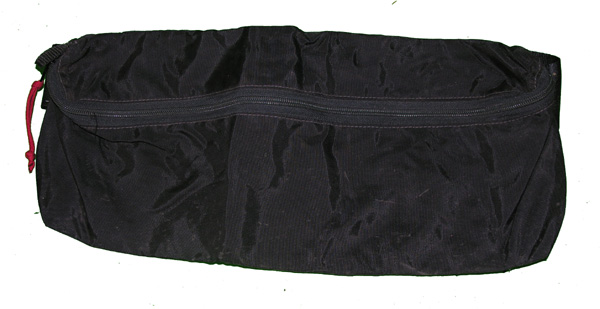 Black Waist Pack with Belt