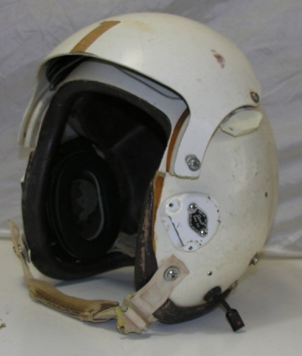 HGU-26/P Flight Helmet with leather edgeroll