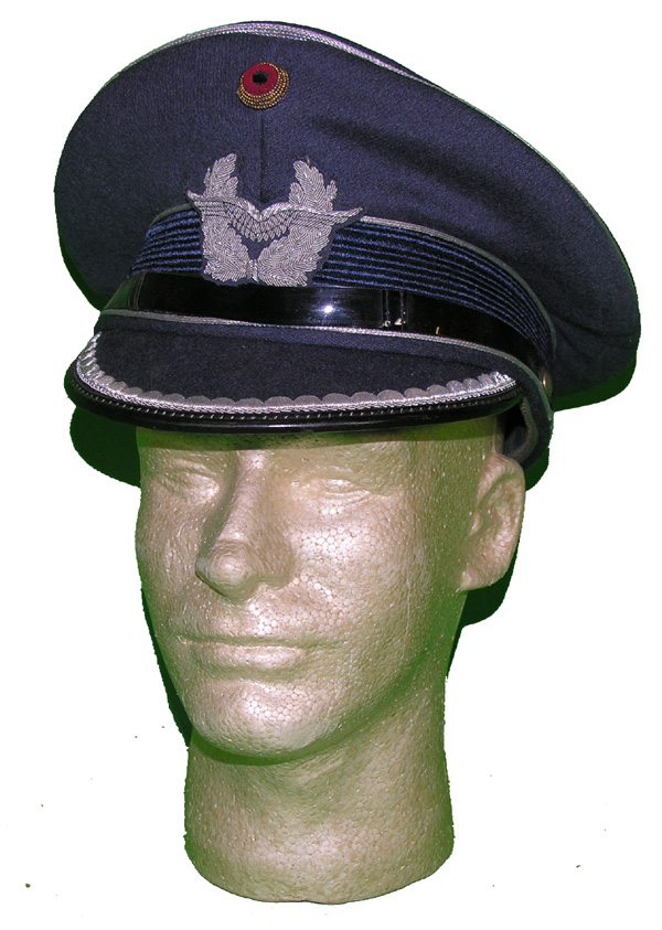 West German Luftwaffe Visor Hat