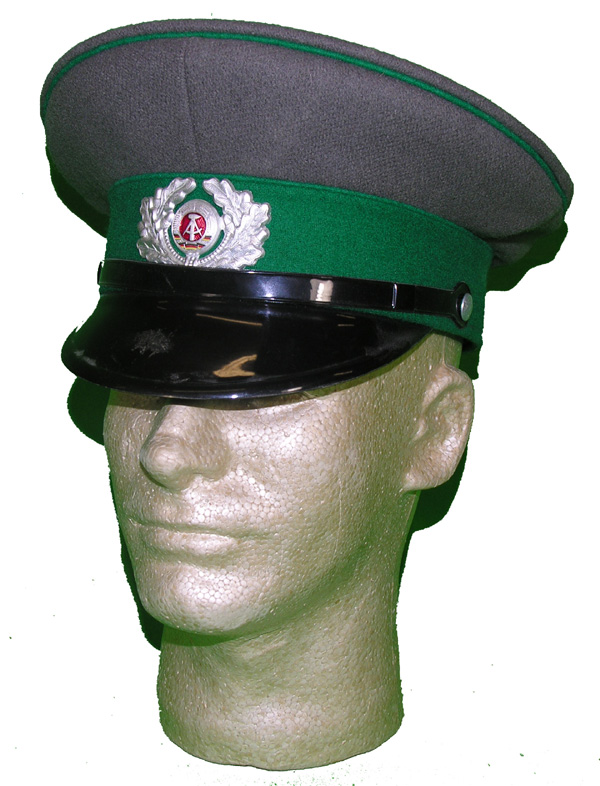 East German Officers Visor Hat