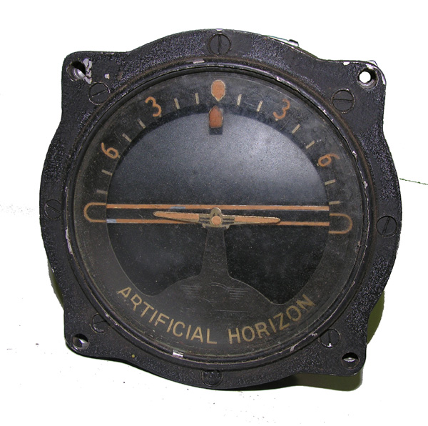 Aircraft Artificial Horizon Indicator