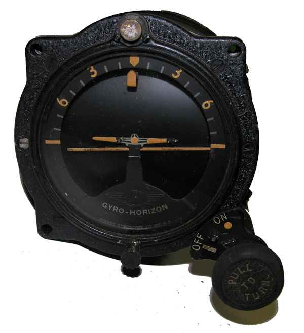 USAC Aircraft Artificial Horizon Indicator