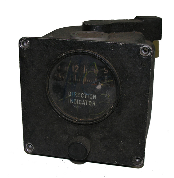 British Aircraft Directional Gyro Indicator