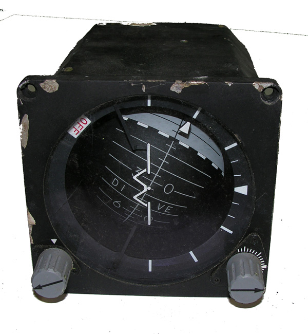 USAF Aircraft Artificial Horizon Indicator