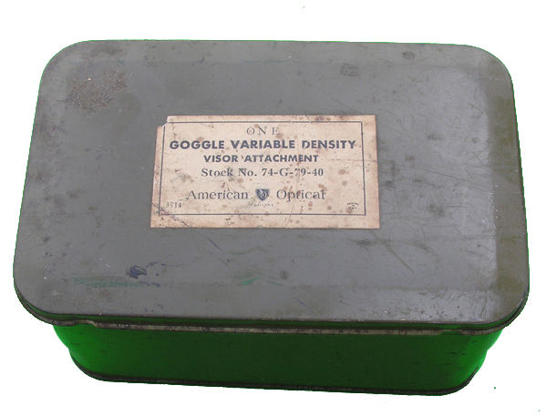 Variable Density Visor Attachment Tin