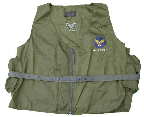 USAF E-1 Survival Radio Carrier Vest
