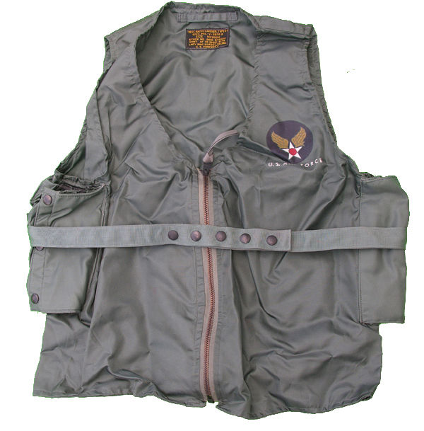 USAF Type E-1 Survival Radio Carrier Vest