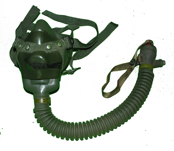 US Navy MS22001 Oxygen Mask with hardshell