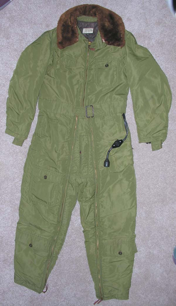 RARE USN Cloth Heated Flight Suit