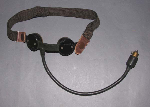 RARE USN 37-A-17 Throat Microphone