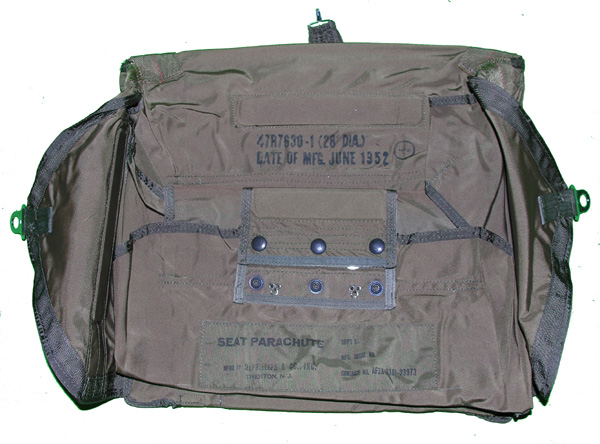 USAF Seat Parachute Pack