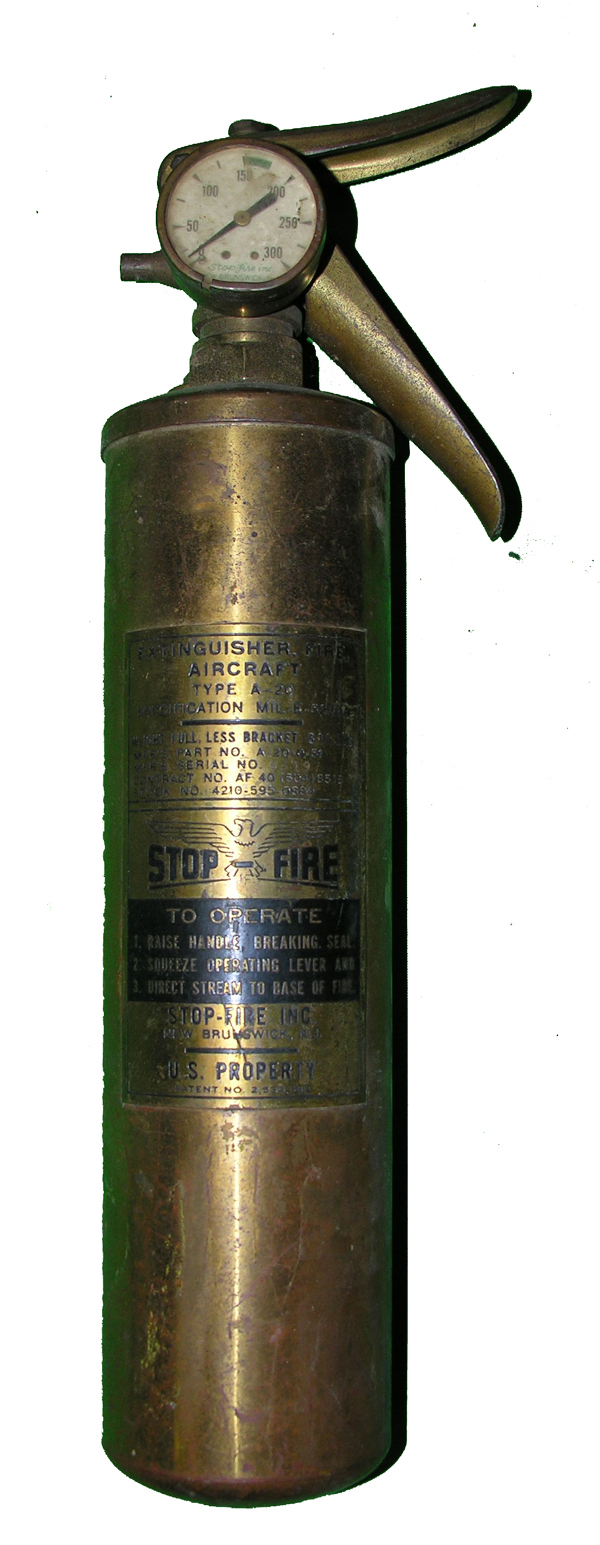 Brass A-20 Fire Extinguisher