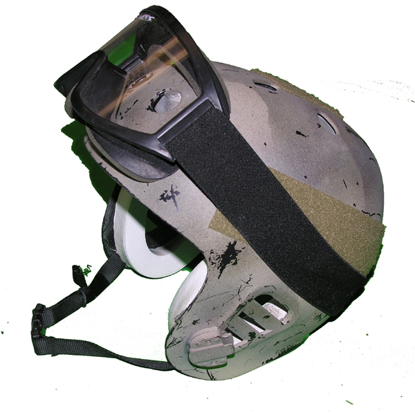 Special Forces Helmet with goggles