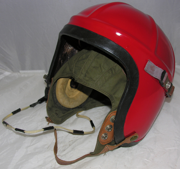 US Navy H-4 Flight Helmet painted Red
