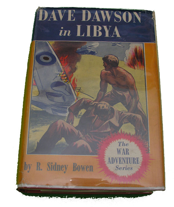 Boys Series Book - Dave Dawson in Lybia