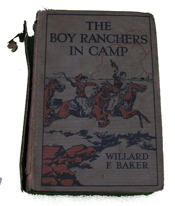 Boys Series Book- The Boy Ranchers in Camp