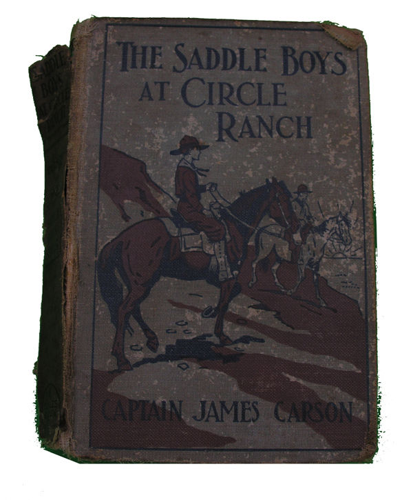 Boys Series Book- The Saddle Boys at Circle Ranch