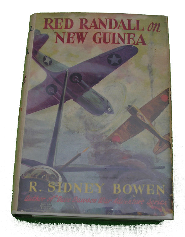 Boys Series Book - Red Randall in New Guinea