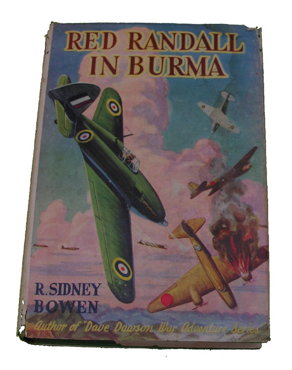 Boys Series Book - Red Randall in Burma