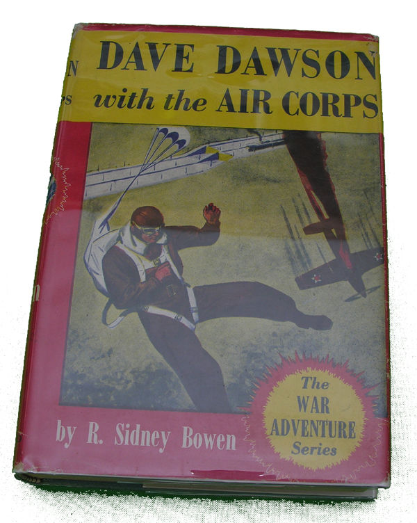 Boys Series Book - Dave Dawson with the Air Corps