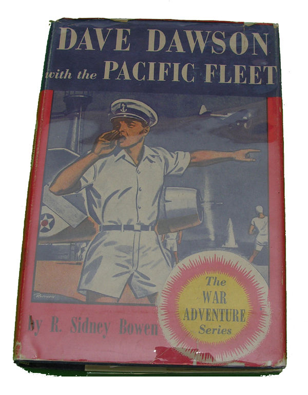 Boys Series Book - Dave Dawson with the Pacific Fleet