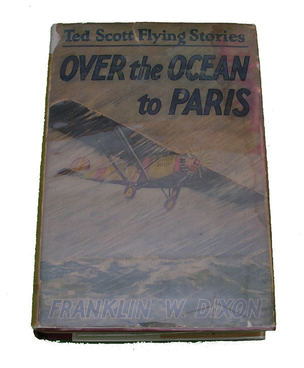 Boys Series Book - Over the Ocean to Paris