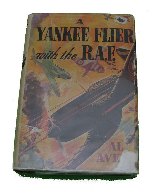 Boys Series Book - Yankee Flier with the RAF