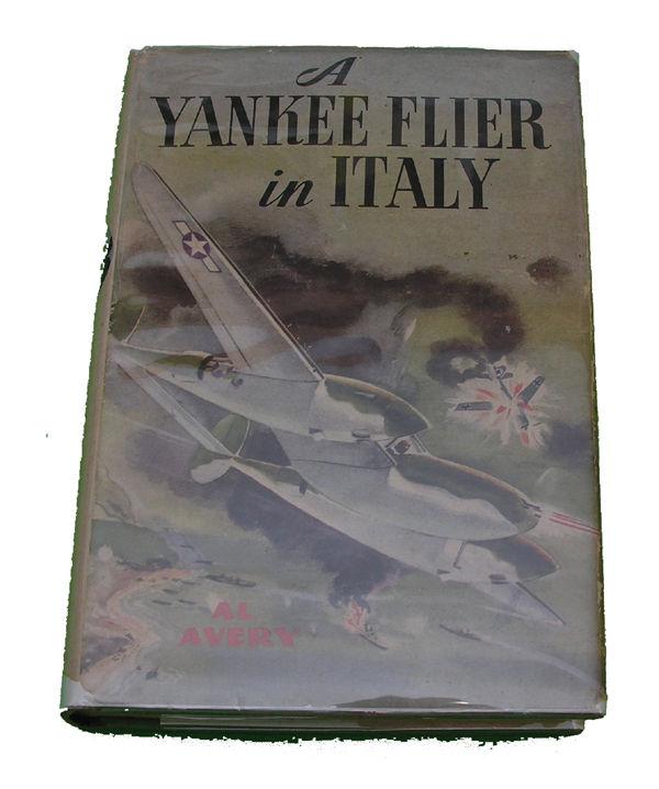 Boys Series Book - Yankee Flier in Italy