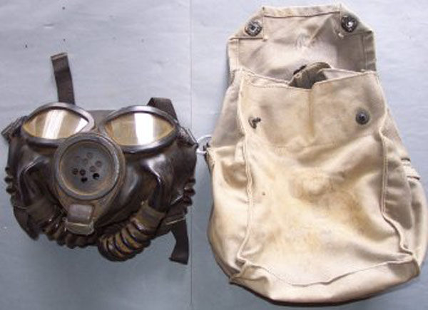 ND Mark III Gas Mask and Carri