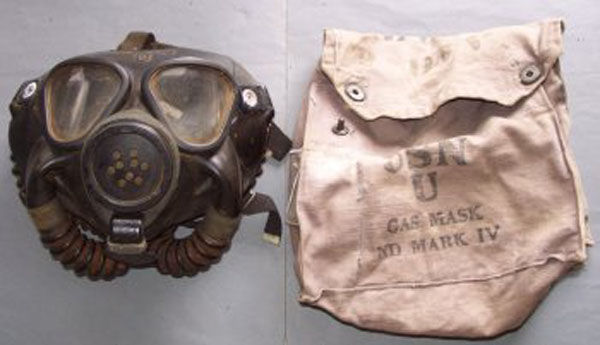 ND Mark IV Gas Mask and Carrie