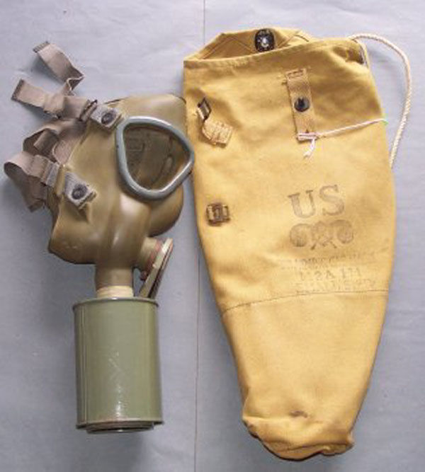 M2A1 Training Gas Mask filter