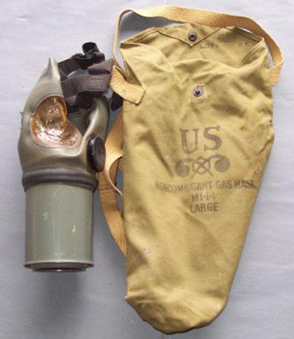 MI-I-I Noncombatant Gas Mask a