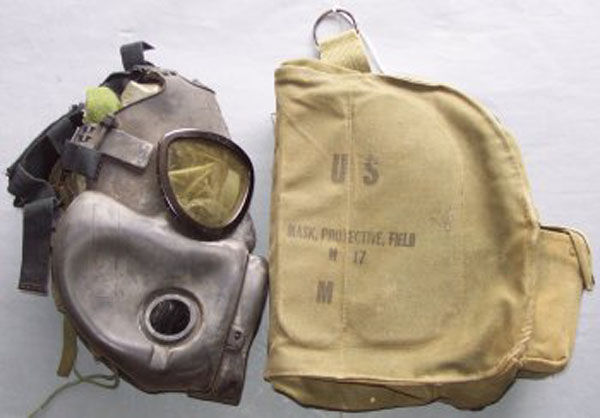 M17 Field Protective Mask fil