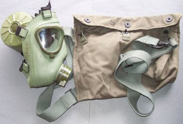 Serbian M2 Gas Mask with filte