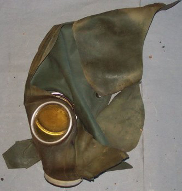 German VM-37 mask face piece (