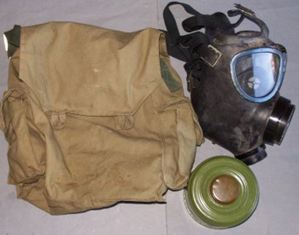 Bulgarian PG-1 Gas mask with f