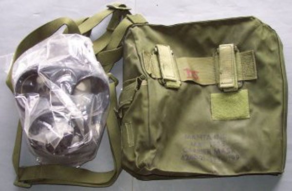 Canadian C3 Gas Mask with filt