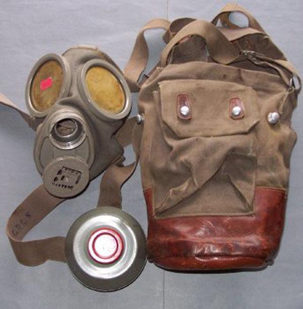 Swedish m/31-36 Gas Mask filt