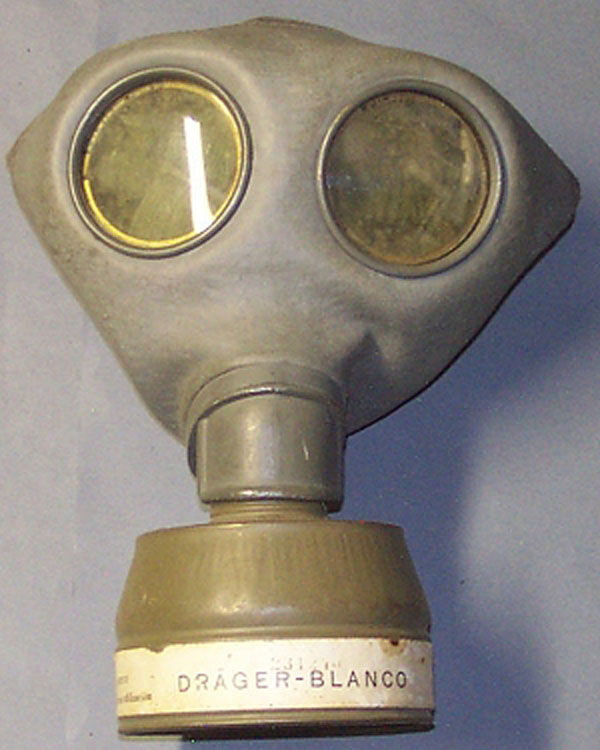 German Draeger/Blanco Gas Mask