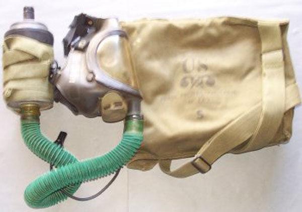M14A2 Tank Gas Mask hose fil