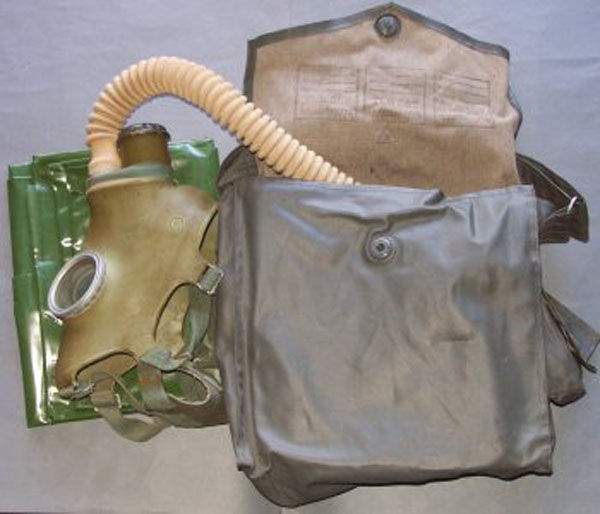 Post war GP-4 Gas Mask with fi