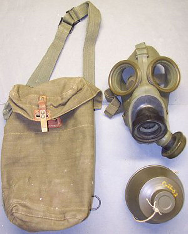 Dutch Type K Gas Mask with fil
