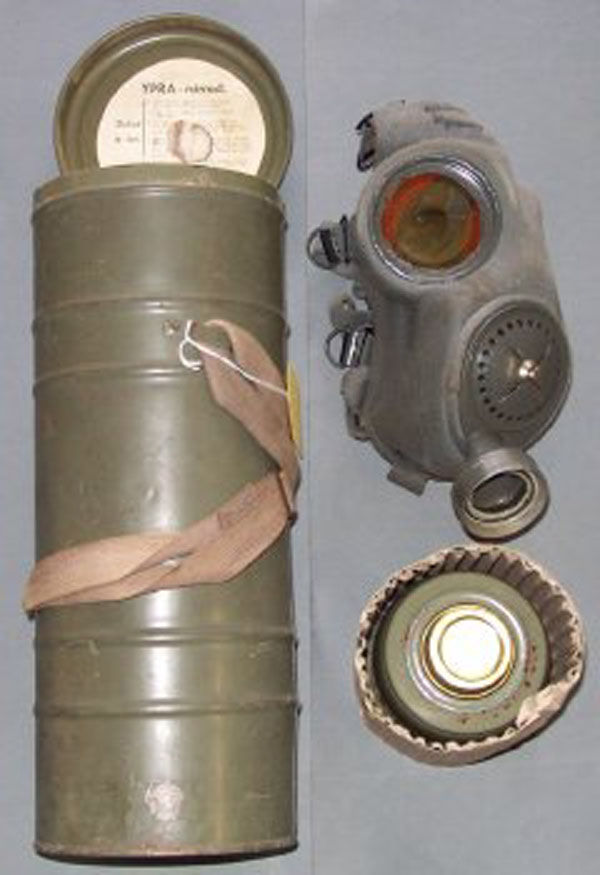 Czech Chema S Gas Mask with fi