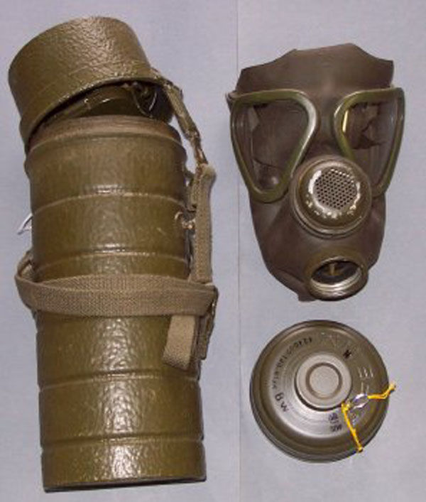German M-62 Gas Mask with filt