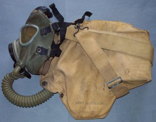 M3 Diaphragm Gas Mask hose an