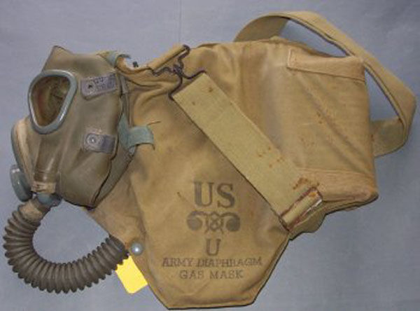 M3A1 Diaphragm Gas Mask hose