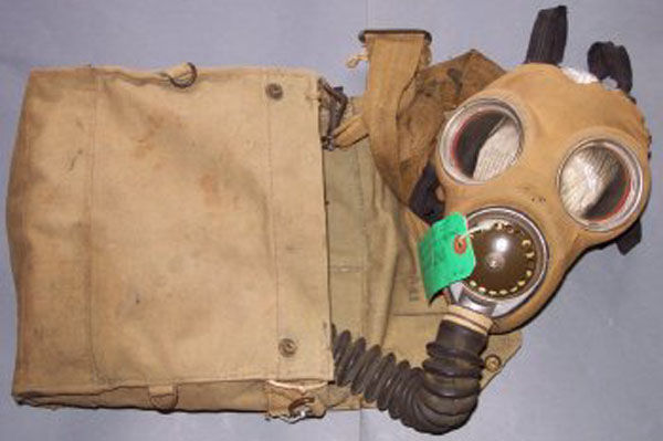 British Mk. IV Gas Mask with h